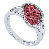 925 Silver Silk Fashion Ladies Ring