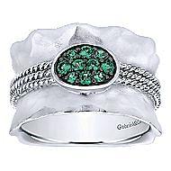 925 Silver Souviens Fashion Ladies' Ring angle 4
