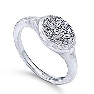 925 Silver Souviens Fashion Ladies' Ring angle 3