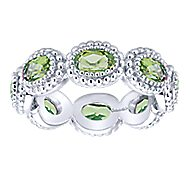 925 Silver Stackable Ladies Ring