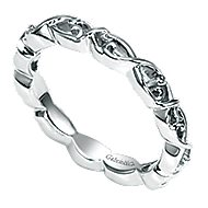 925 Silver Stackable Ladies' Ring angle 3