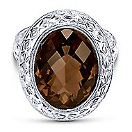 925 Silver Victorian Fashion Ladies Ring