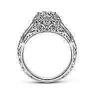 Jaelyn Platinum Round Straight Engagement Ring angle 2