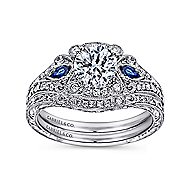 PLT Sapphire&Diamond Eng.Ring