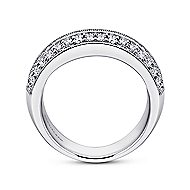 Prong Classic Diamond Ring in 14K White Gold