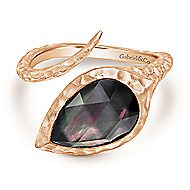Rose Plated Silver Fashion Ladies' Ring