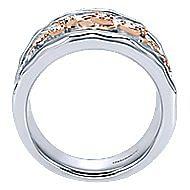 Silver-18K Rose Gold  Fashion Ladies' Ring
