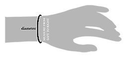 Diameter Measure From Left to Right